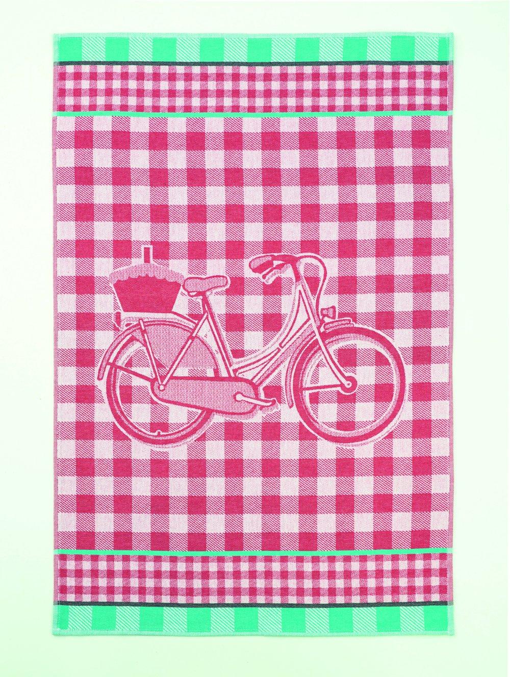 Coucke Retro Checkered tea towel #1