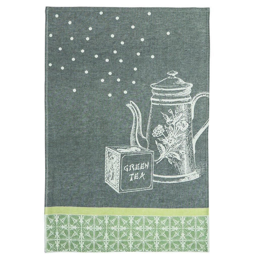 Coucke Tea Pots tea towel #2