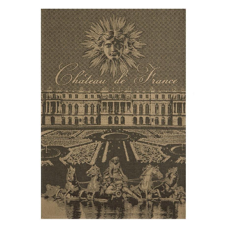Coucke Chateau de France tea towel