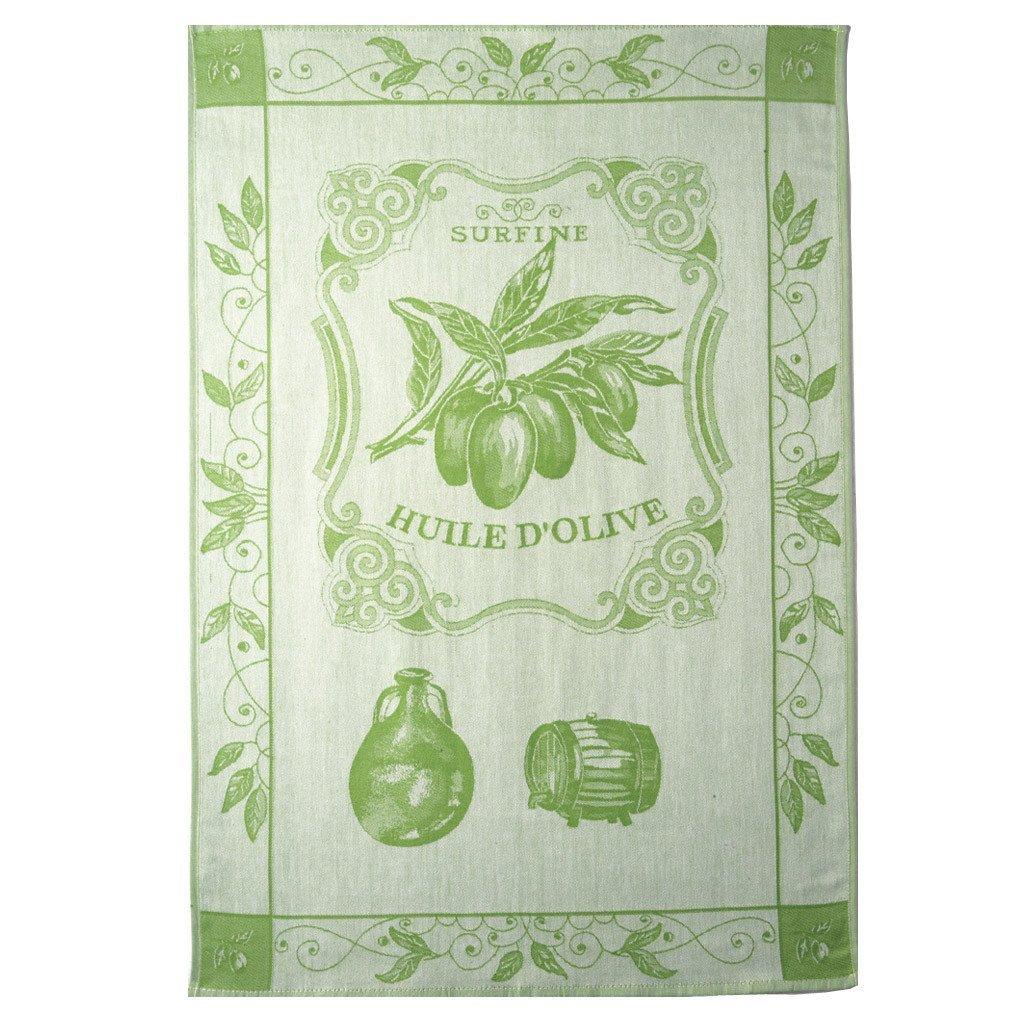 Coucke Huile Surfine tea towel