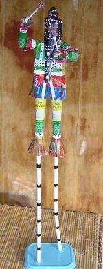 Dogon stilt dancer
