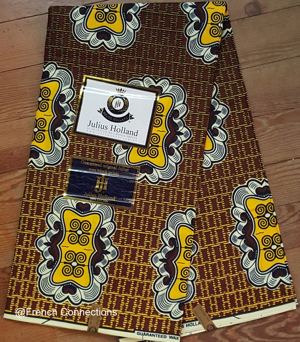 Ankara Fabric with Dwennimmen symbol #1031