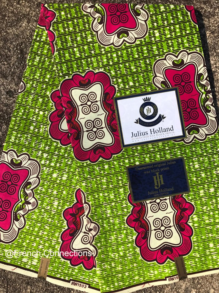 Ankara Fabric with Dwennimmen symbol #1033
