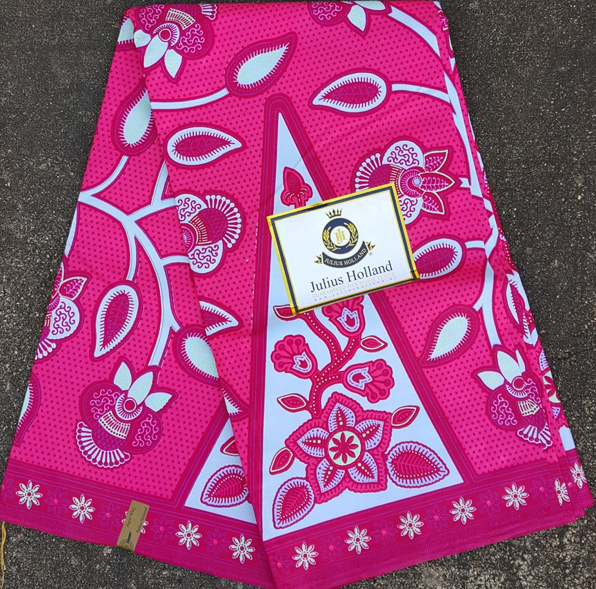 Gorgeous Pink Ankara Fabric #1051