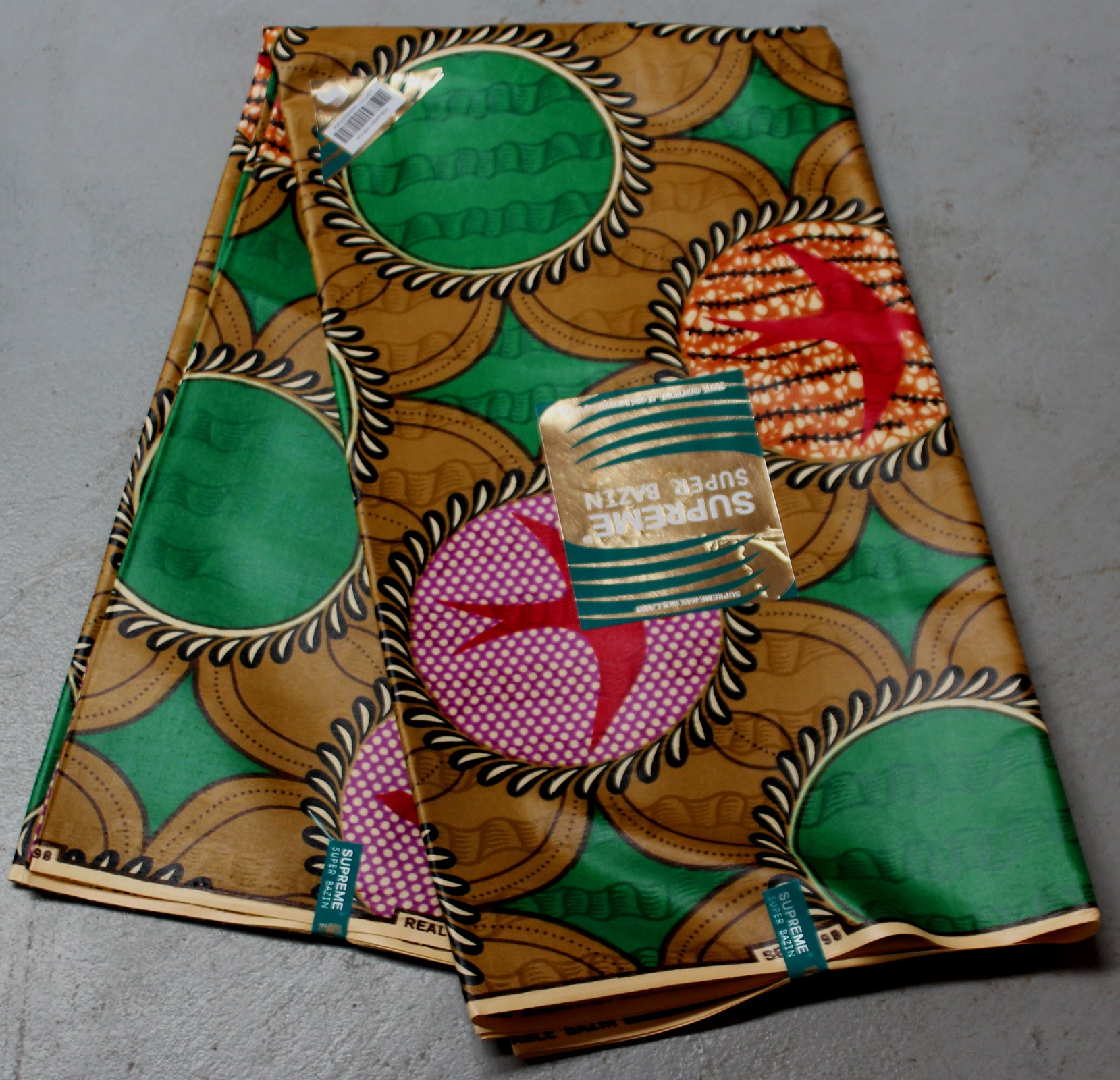 Dutch Supreme Damask Bird printed fabric #646