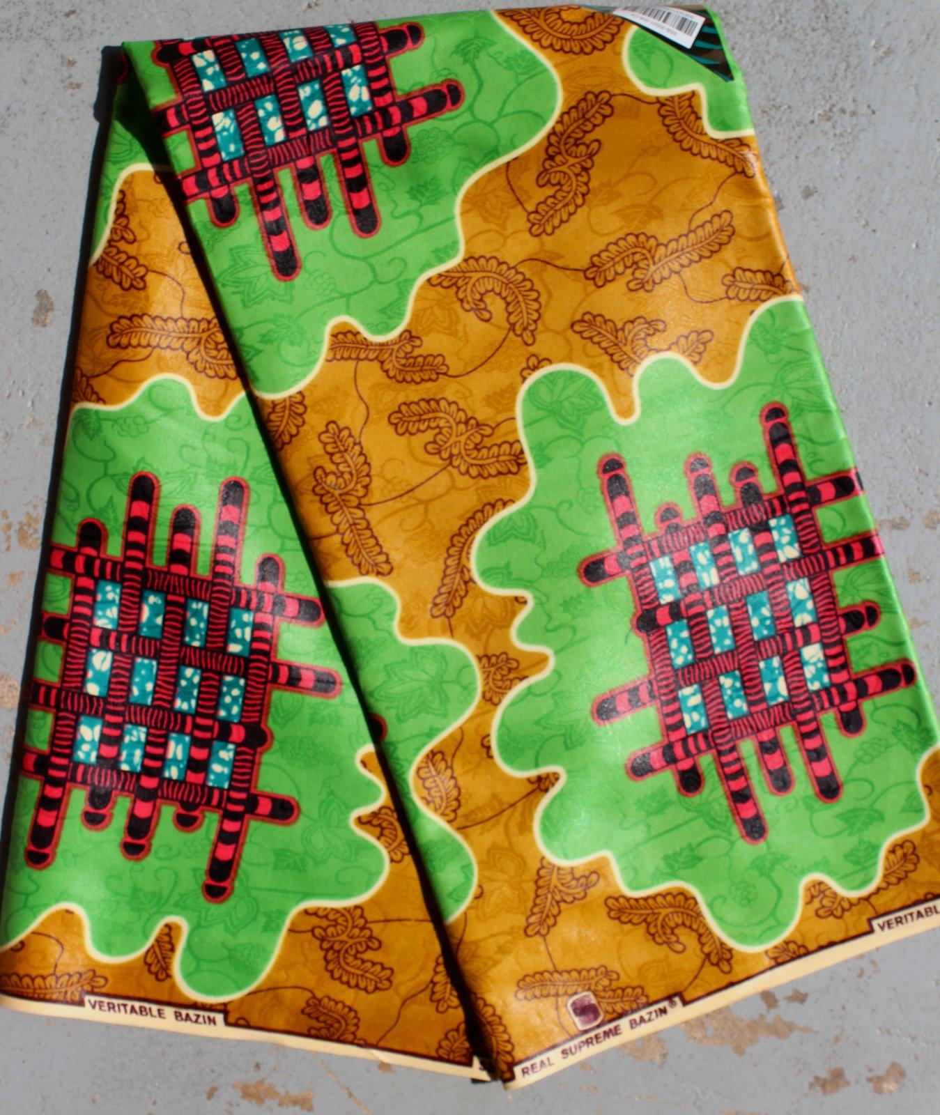 Dutch Damask Yellow printed fabric #659