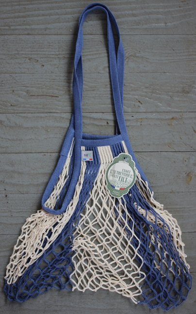 FILT String Bag (Blue & White)