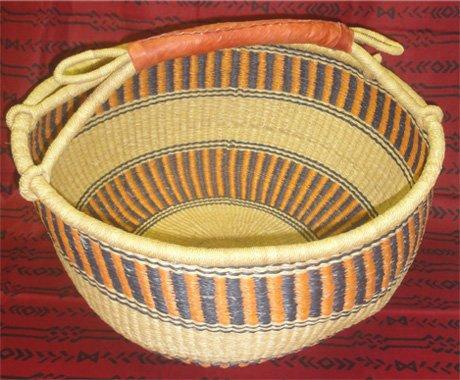 Ghana Round Market Basket XL #073