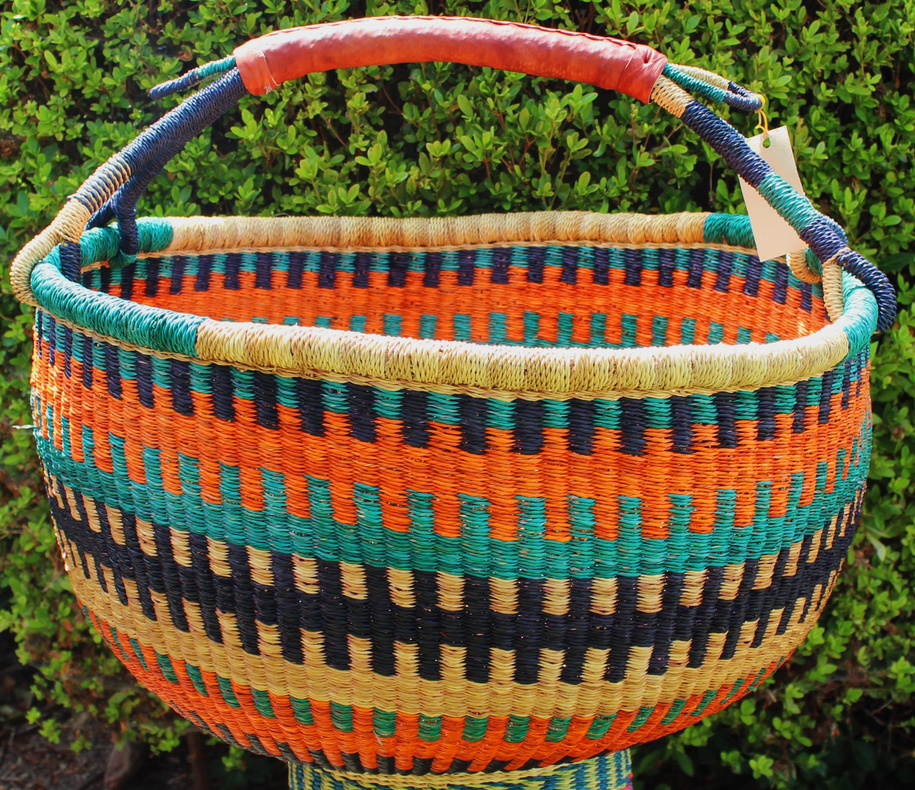 Ghana Round Market Basket XL #075