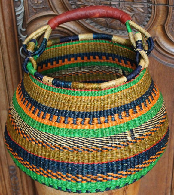 African Baskets: African Baskets And Bags