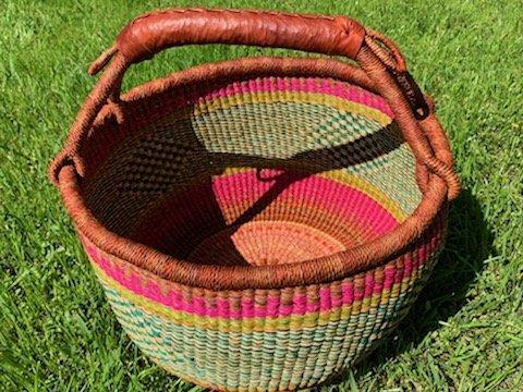 Ghana Round Market Basket Large #140