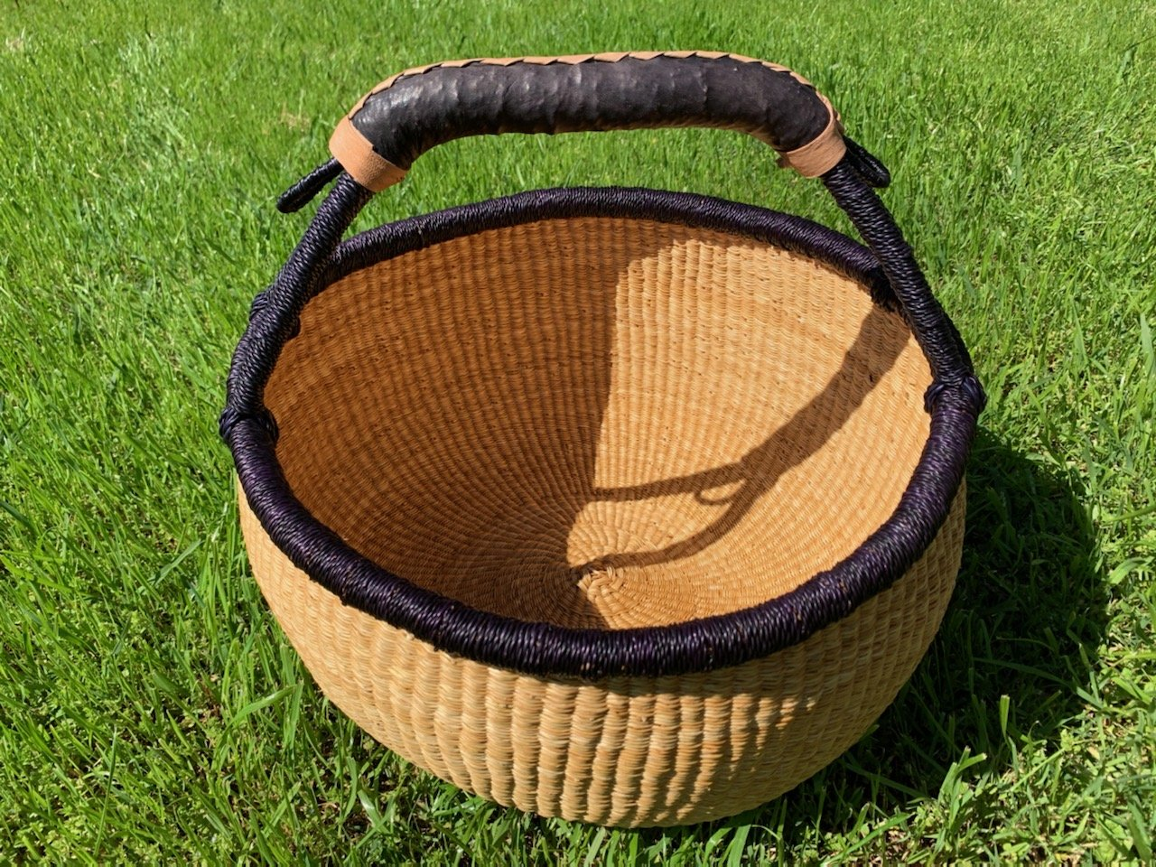 Ghana Round Market Basket Large #141