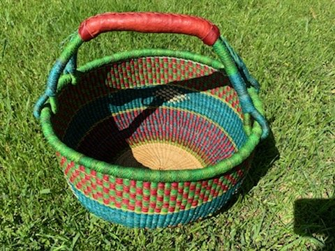 Ghana Round Market Basket Large #142