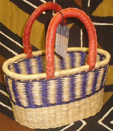 Ghana Oval Basket Small #015