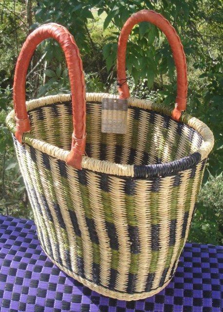 Ghana V-shaped Basket #006