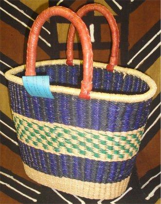 Ghana V-shaped Basket #009