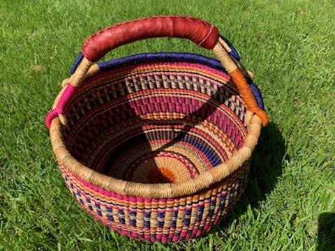 Ghana Round Market Basket Large #139