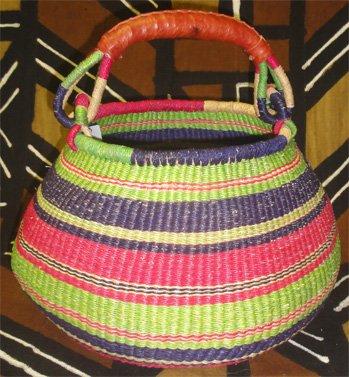 Ghana Gambibgo Pot Basket #014