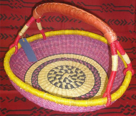 Ghana Pie Basket #022