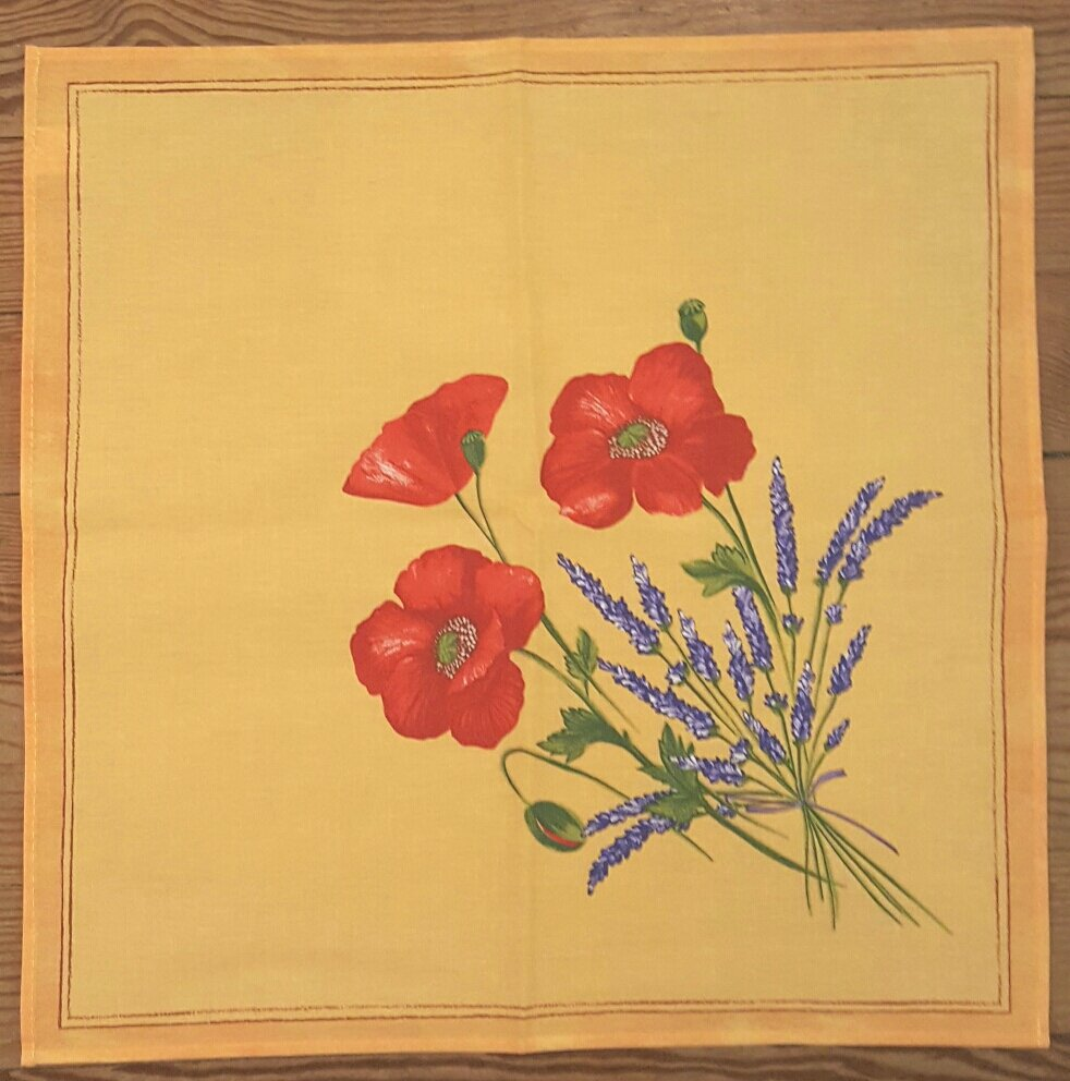 Poppy Napkin (Gold)