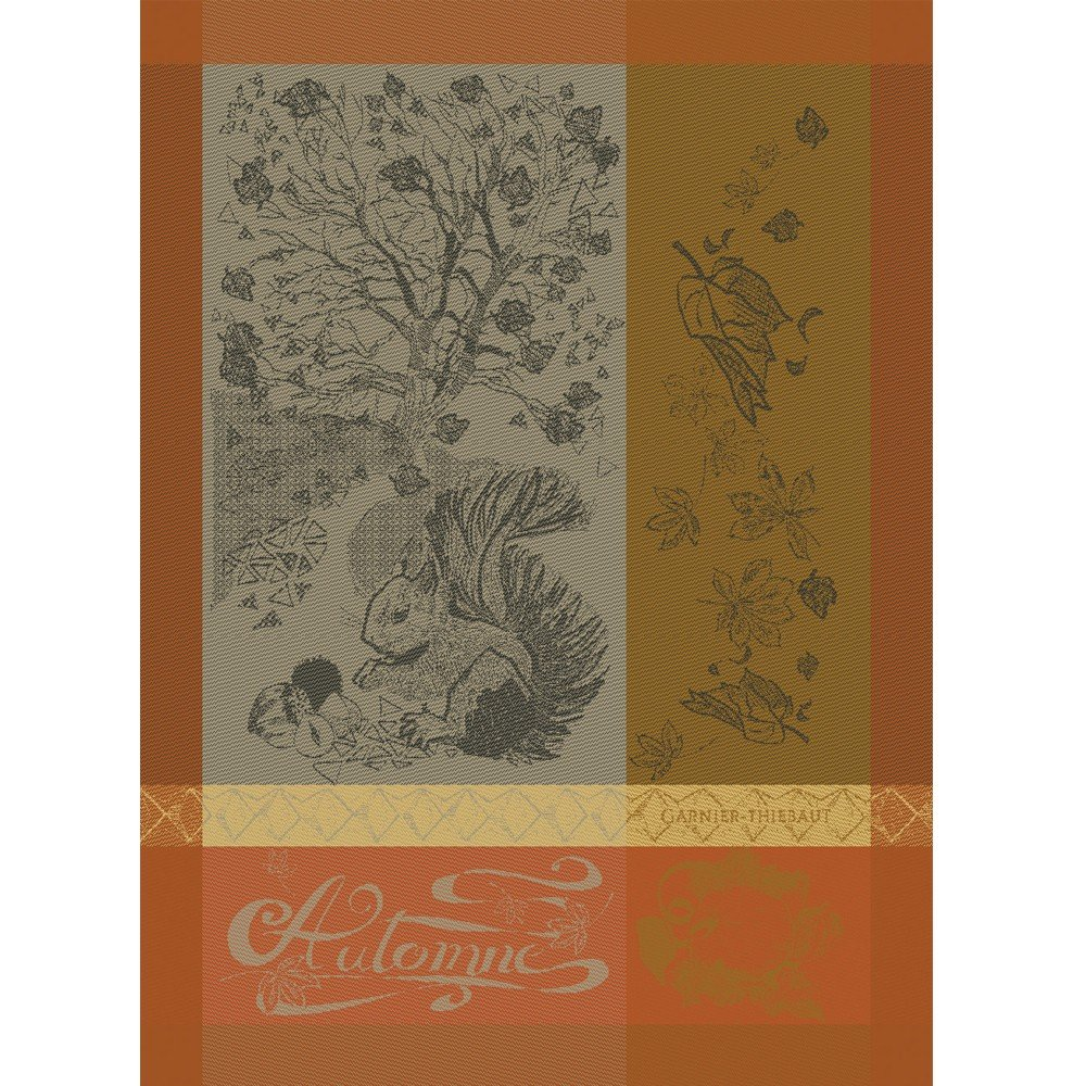 Garnier-Thiebaut Tea Towel Autum