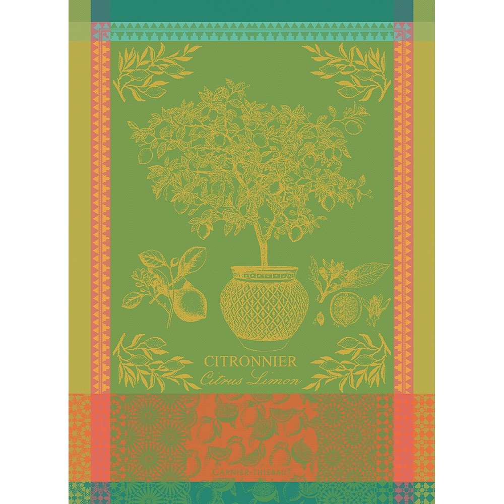 Garnier-Thiebaut Lemon Tree Towel