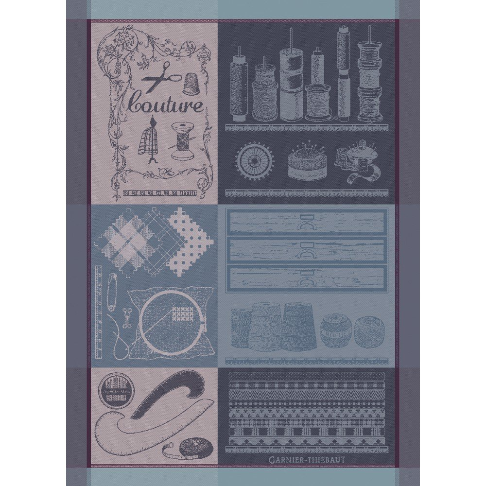 Garnier-Thiebaut French Sewing Tea Towel