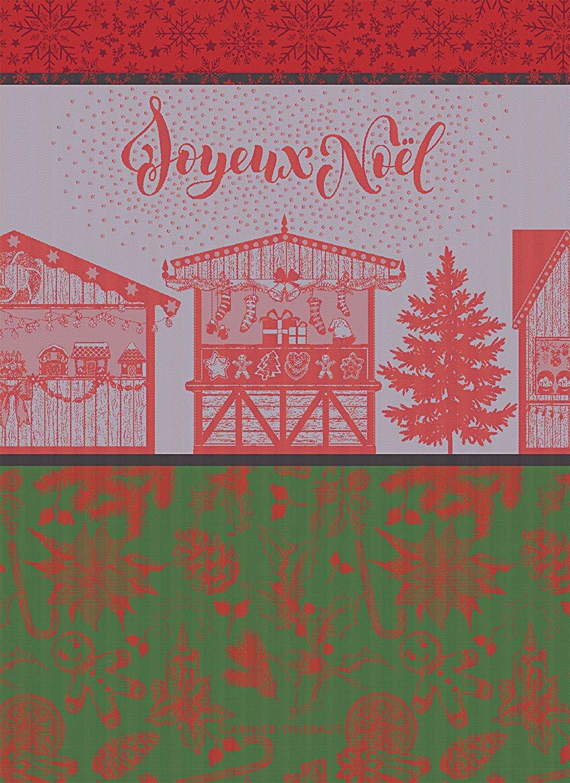 Garnier-Thiebaut Christmas Market Towel