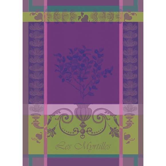 Garnier-Thiebaut Tea Towel Blueberry