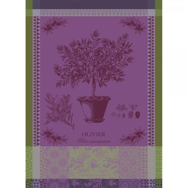 Garnier-Thiebaut Olive Tree Towel