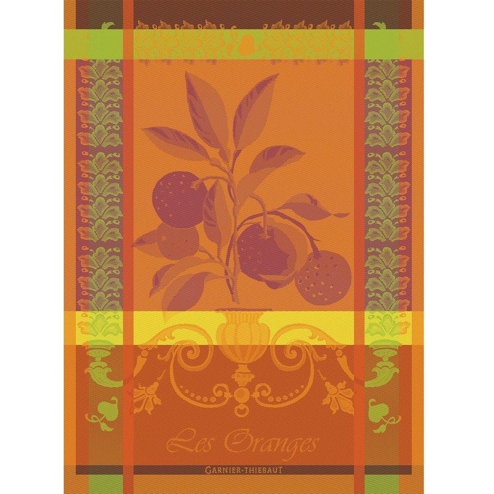 Garnier-Thiebaut Blood Orange tea towel
