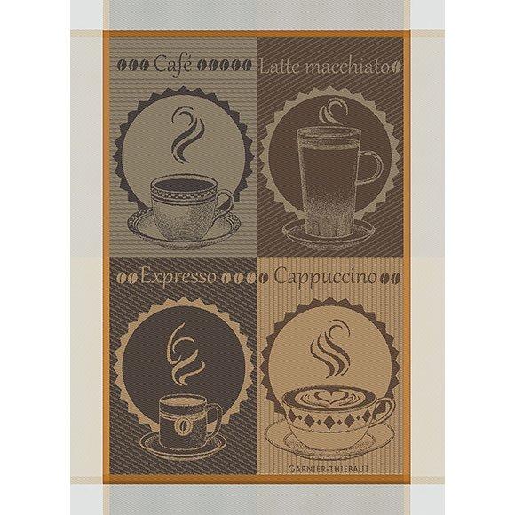 Garnier-Thiebaut Tea Towel Coffee Cup