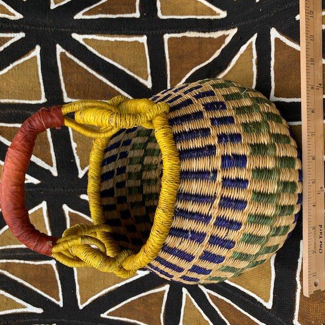 Ghana Gambibgo Pot Basket Small #016