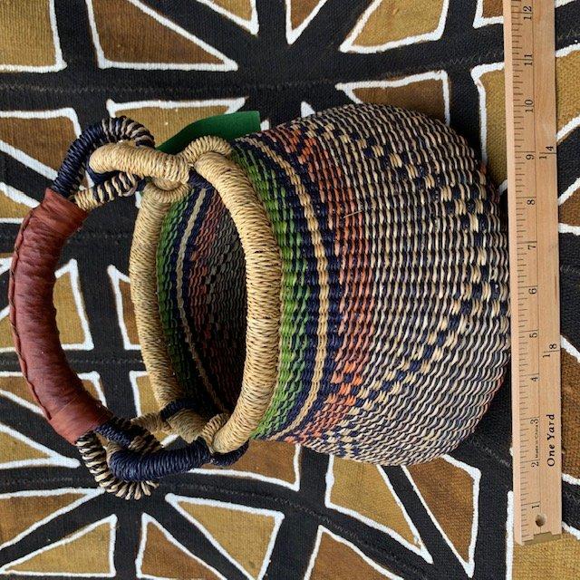 Ghana Gambibgo Pot Basket Small #015