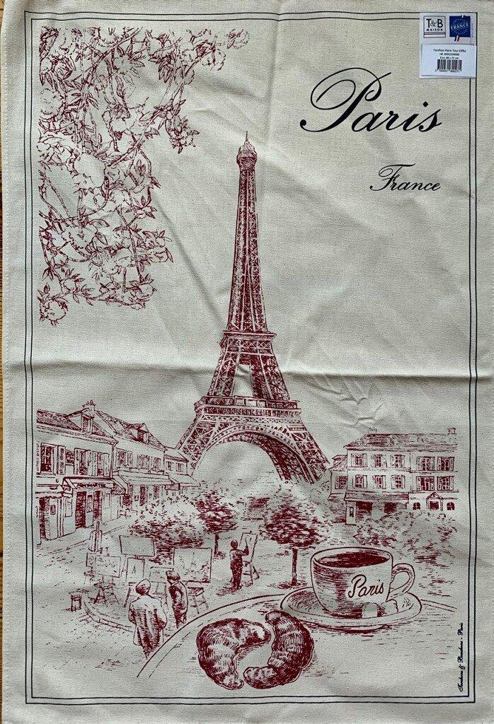 Torchons & Bouchons Eiffel Tower Tea Towel