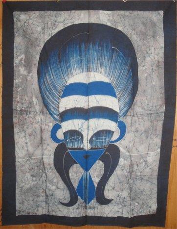 Ivory Coast Batik Mask panel #039