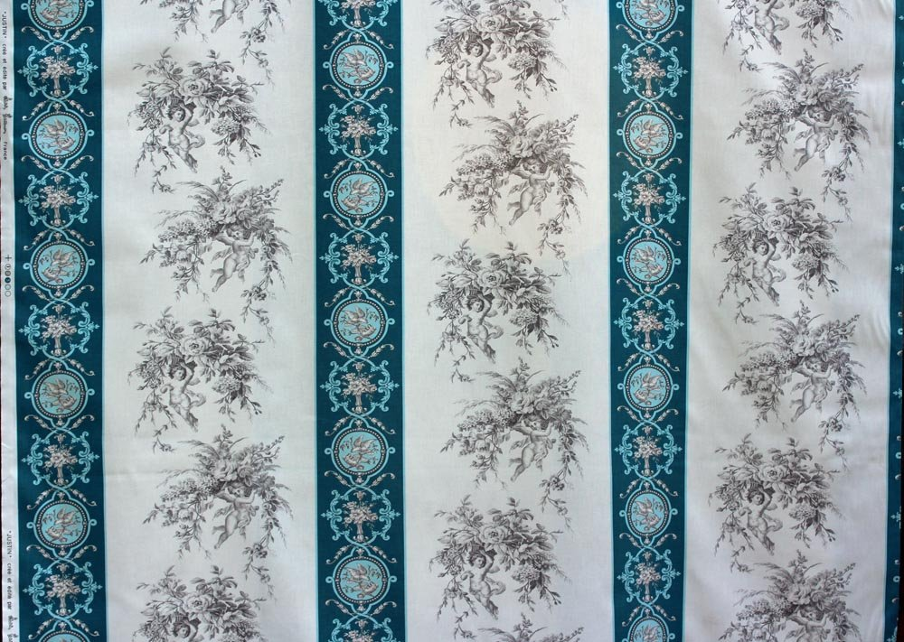 Blue Toile from France by Olivier Thevenon #42
