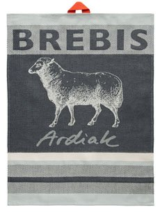 Jean Vier Sheep tea towel #1