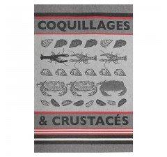 Jean Vier Crustacean tea towel