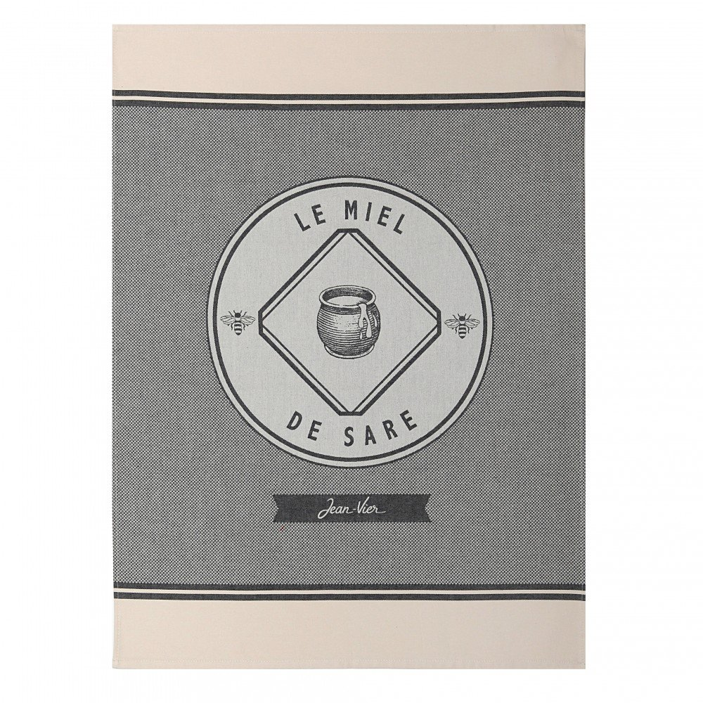 Jean Vier Honey from Sare Tea Towel