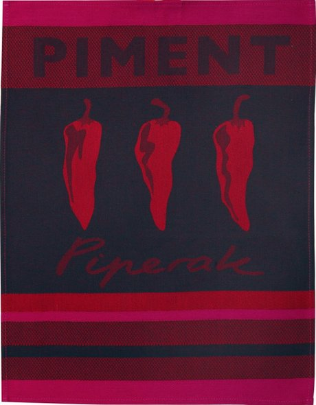 Jean Vier Hand Towel Piment (Red)
