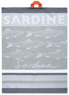 Jean Vier Hand Towel Sardines