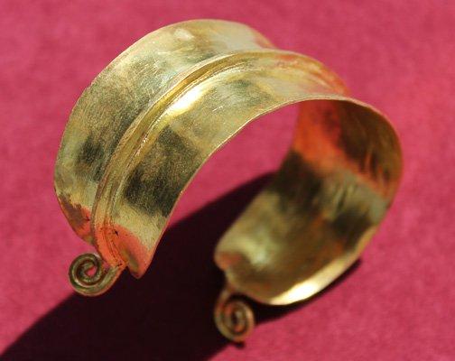 Fulani Brass Bracelet
