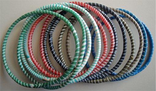 Malian Multicolored Bracelet Set #1
