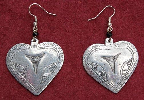 Mali Heart #1 Earrings
