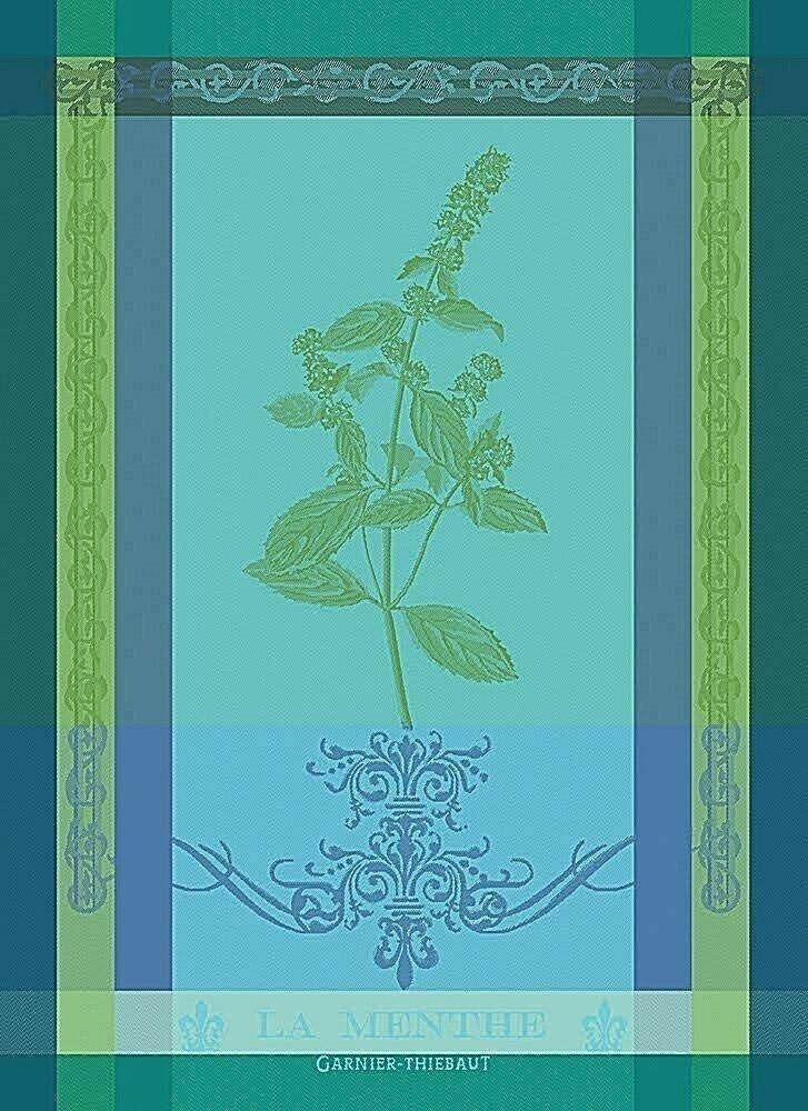 Garnier-Thiebaut Mint Sprig Towel