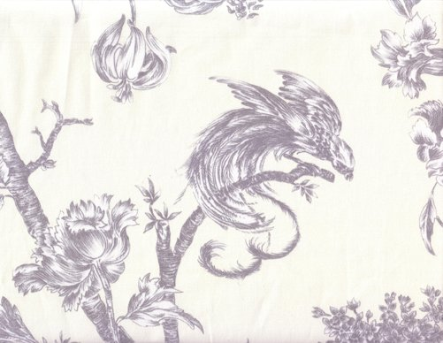 French lyrebird toile #09