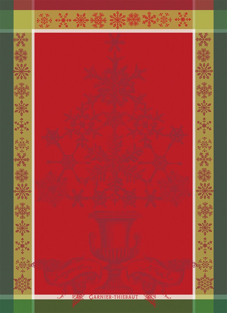Garnier-Thiebaut Baroque Christmas (red)