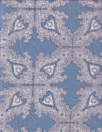 Charles Demery Palmyre Blue 106-inch Wide fabric