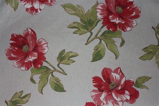 French Peony Fabric #001